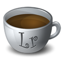 lightroom, Coffee Black icon