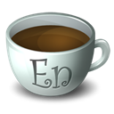 Coffee, Encore Black icon