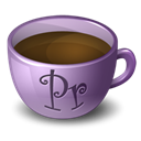 Coffee, Premiere Black icon
