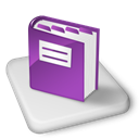 onenote, Ms, Color Black icon