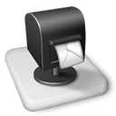 outlook, Ms, whack Black icon