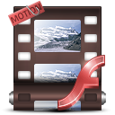 motiongraphic DarkSlateGray icon