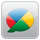 google, Buzz DarkGray icon