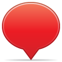 Balloon, Social Crimson icon