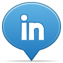 Social, Balloon SteelBlue icon