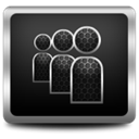Myspace DarkSlateGray icon