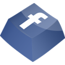 Facebook DarkSlateBlue icon