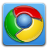google, chrome CornflowerBlue icon