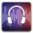 Audacity DarkSlateBlue icon