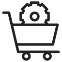 Business, buying, shopping cart, buy, online store, shopping, commerce Black icon