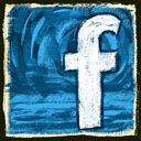 Facebook Teal icon
