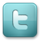 twitter CadetBlue icon