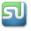 Stumbleupon SteelBlue icon