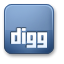 Digg CornflowerBlue icon