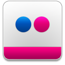 flickr WhiteSmoke icon