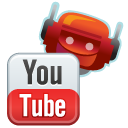 utube Black icon