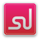 Stumbleupon Crimson icon