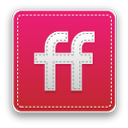 Friendfeed Crimson icon