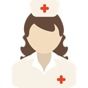 Nurse, Medical Assistance, Medical Icons, Illness, people, hospital Linen icon