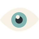 optical, vision, Ophthalmology, Eye, medical, people Linen icon