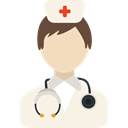 Nurse, hospital, woman, people, Medical Assistance Linen icon