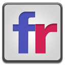 flickr LightGray icon
