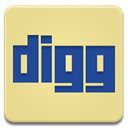 Digg Khaki icon