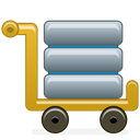 Development, Database Black icon