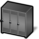 hot, locker DimGray icon