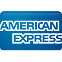 Credit card, express, curved, american Teal icon