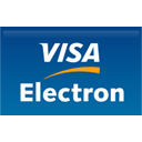 straight, Electron, Credit card, visa Teal icon