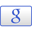 Credit card, checkout, curved, google Gainsboro icon