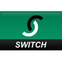 switch, Credit card, straight Teal icon