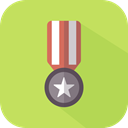 award, medal, Certification, Quality, winner DarkKhaki icon