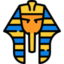 Egyptian, Pharaoh, Avatar, dynasty, people Black icon