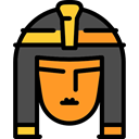 Cleopatra, Avatar, Egyptian, people, woman, Queen Black icon