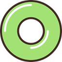 mint, food, Candy, Dessert LightGreen icon