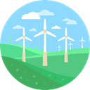 mill, Windmills, ecology, Ecological, Ecologic, technology, landscape, Eolian LightSkyBlue icon