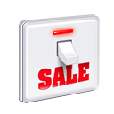 commerce, shopping, Discount, ecommerce WhiteSmoke icon