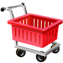Empty, commerce, shopping, Cart, ecommerce Firebrick icon