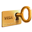 commerce, ecommerce, secure, shopping, payment SandyBrown icon