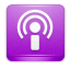 podcast DarkOrchid icon