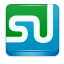 Stumbleupon LightSeaGreen icon