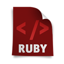 ruby, Page Maroon icon
