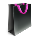 Bag, Big, pink DarkSlateGray icon