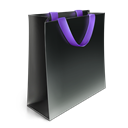 Bag, violet DarkSlateGray icon