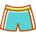 swimsuit, Summertime, fashion, Clothes, Beach MediumTurquoise icon