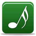 music ForestGreen icon