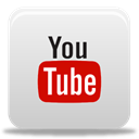 youtube LightGray icon