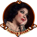 diva, carny Black icon